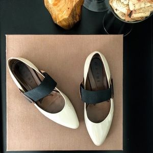 Marni patent leather Mary Jane flats | size 7.5